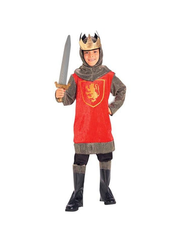 Childs Crusader King Costume