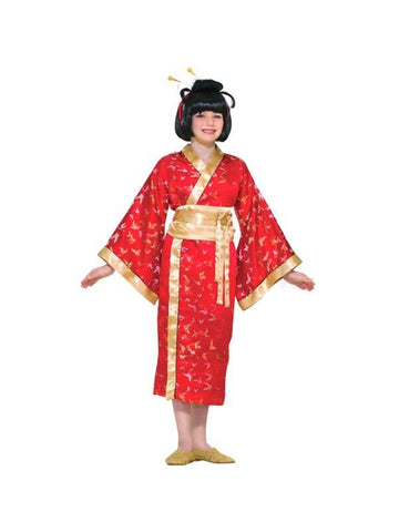 Childs Asian Geisha Girl Costume