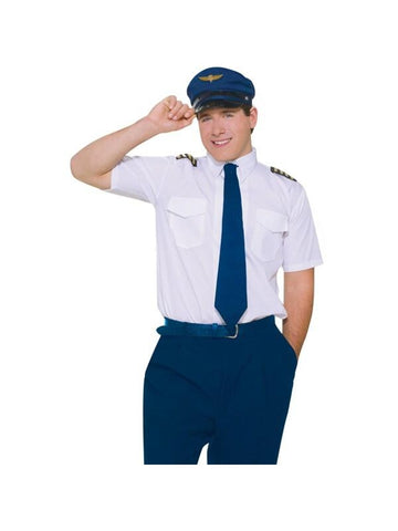 Adult Co Pilot Costume-COSTUMEISH