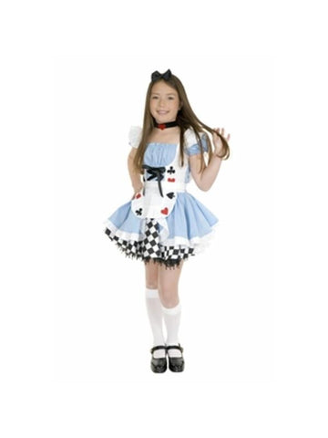 Preteen Fairy Tale Alice Costume-COSTUMEISH
