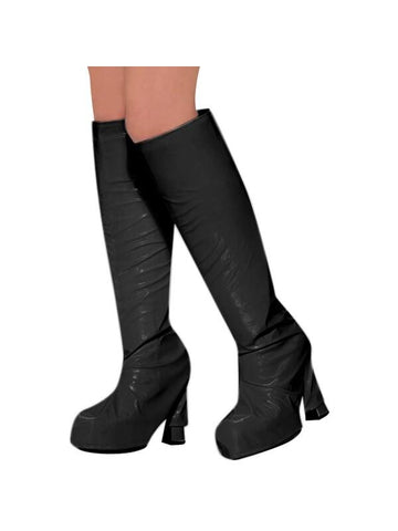 Adult Black 60's Go Go Boot Tops