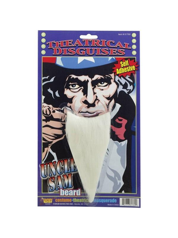 Adult Uncle Sam Costume Beard-COSTUMEISH