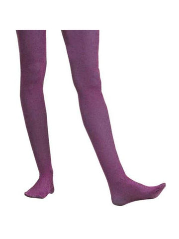 Adult Solid Purple Nylon Tights-COSTUMEISH