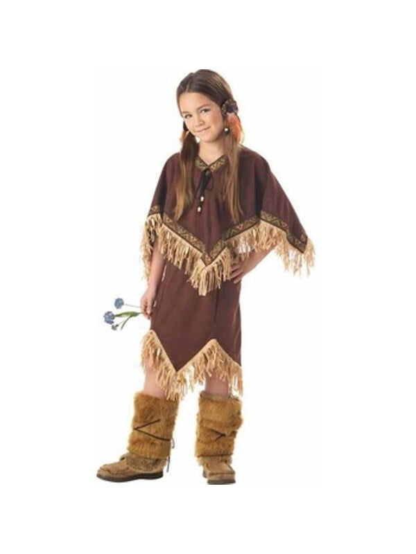 Childs Indian Princess Wildflower Costume-COSTUMEISH