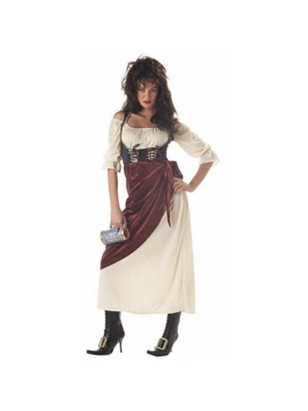 Adult Renaissance Tavern Wench Costume-COSTUMEISH