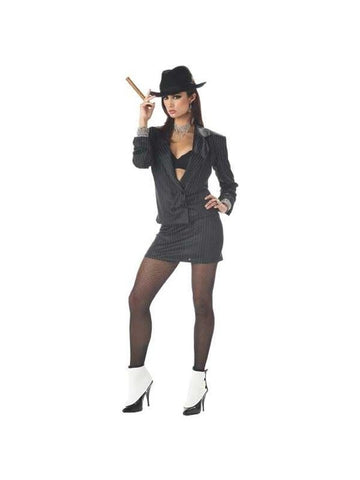 Adult Sexy Mafia Princess Costume-COSTUMEISH