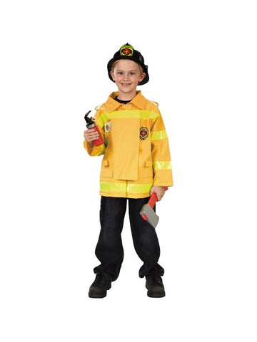 Child's Value Firefighter Costume-COSTUMEISH