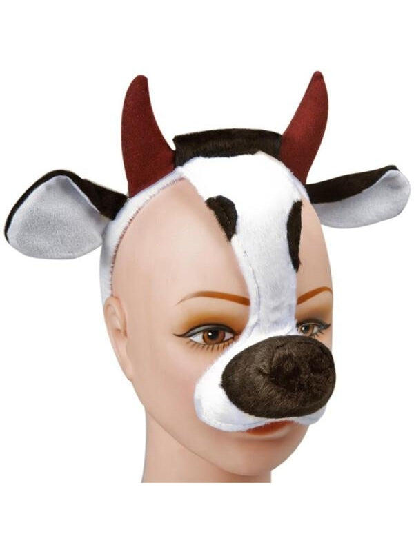 Adult Cow Animal Headpiece-COSTUMEISH
