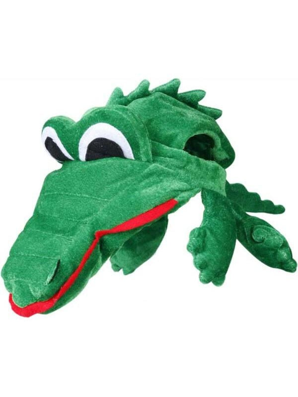 Alligator Costume Hat-COSTUMEISH