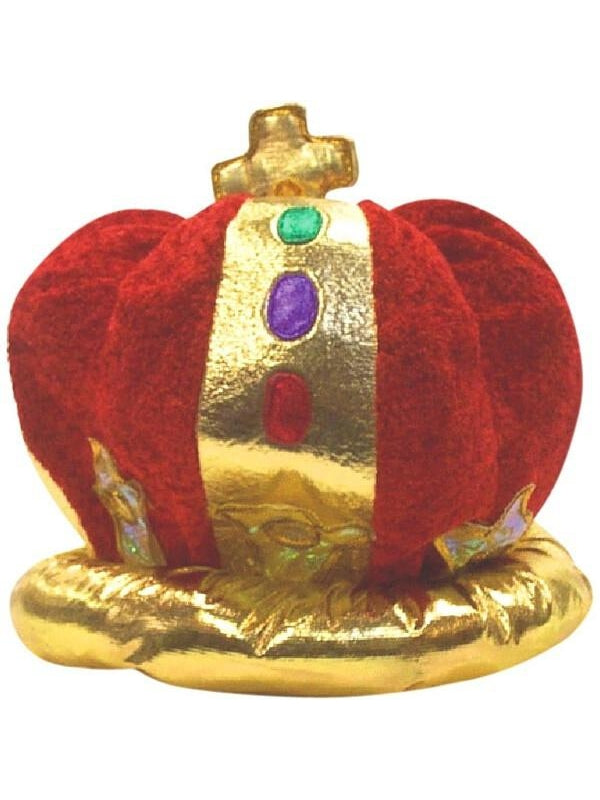 Velvet Kings Crown Hat-COSTUMEISH