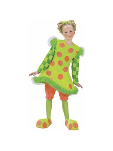 Childs Lolli The Clown Costume