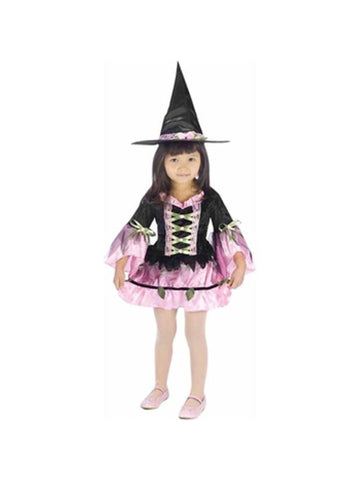 Toddler Blossom Witch Costume-COSTUMEISH