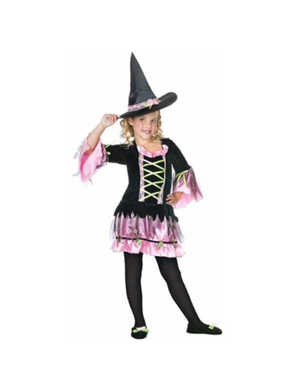 Childs Blossom Witch Costume-COSTUMEISH