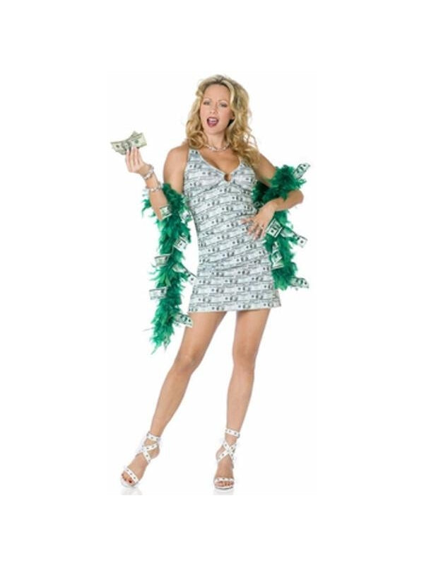 Adult Womens Money Ho Costume-COSTUMEISH