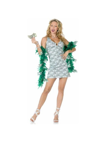Adult Womens Money Ho Costume