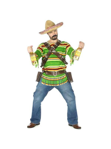 Adult Mexican Tequila Shot Costume-COSTUMEISH