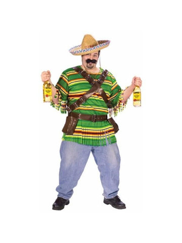 Adult Plus Size Mexican Tequila Shot Costume-COSTUMEISH