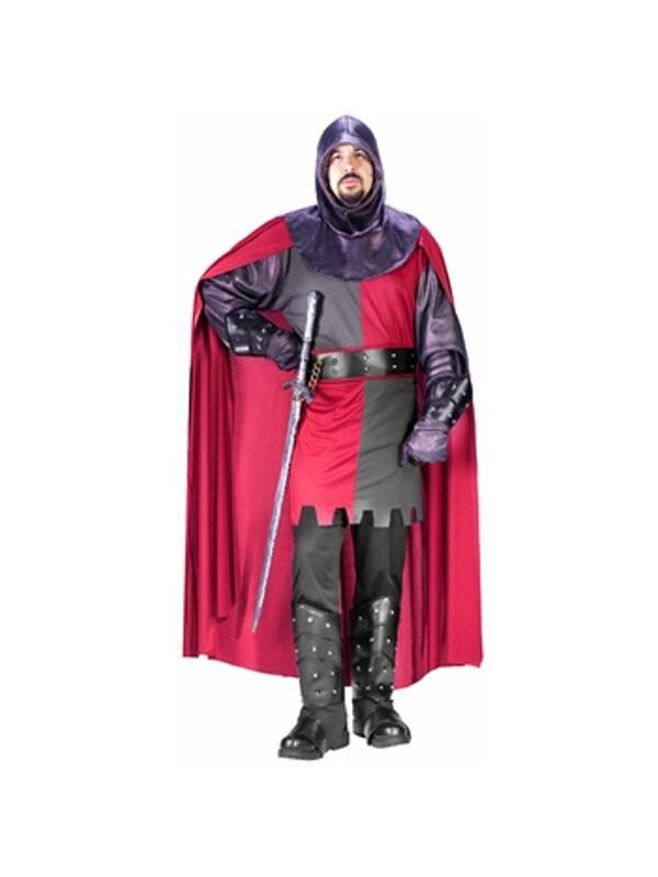 Adult Valiant Knight Costume-COSTUMEISH