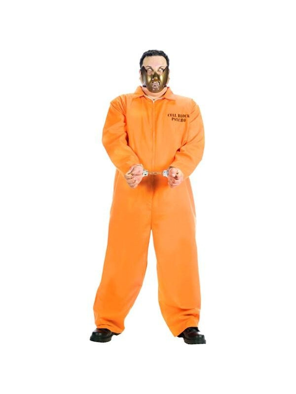 Adult Plus Size Cell Block Psycho Costume-COSTUMEISH