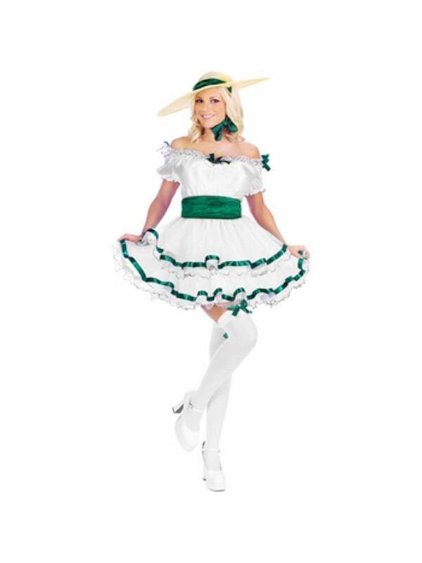 Adult Women's Sexy Scarlet O'Hara Costume-COSTUMEISH