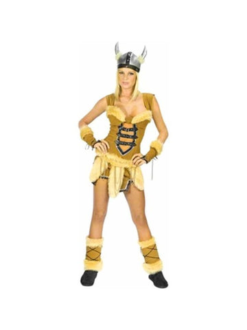 Adult Women's Sexy Viking Vixen Costume