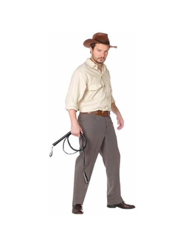Adult Indiana Jones Costume Kit-COSTUMEISH