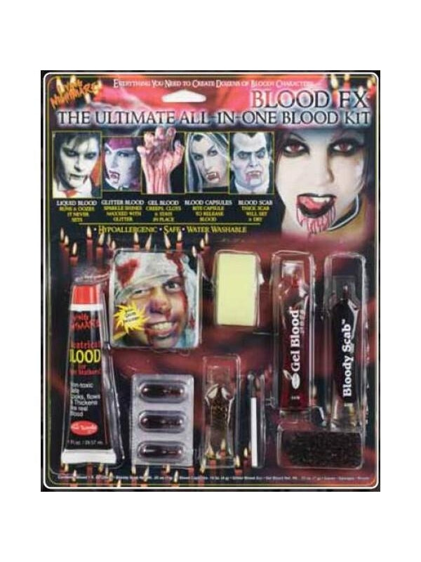 Ultimate All In One Fx Blood Kit-COSTUMEISH