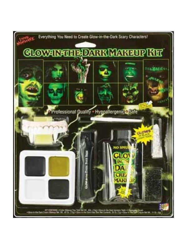 Glow In The Dark Makeup Kit-COSTUMEISH