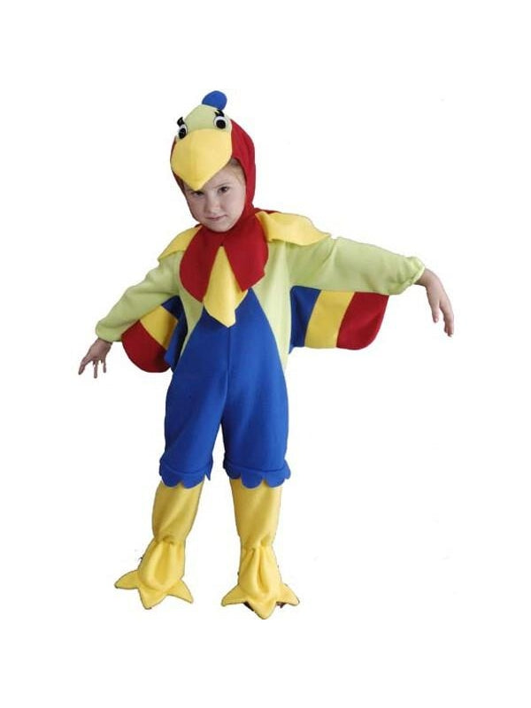 Toddler Parrot Costume-COSTUMEISH