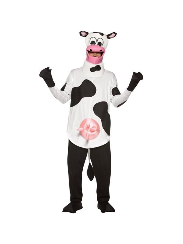 Adult Cow Costume-COSTUMEISH