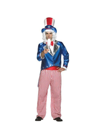Adult Uncle Sam Costume-COSTUMEISH