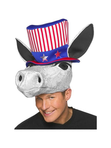 Democratic Donkey Hat-COSTUMEISH
