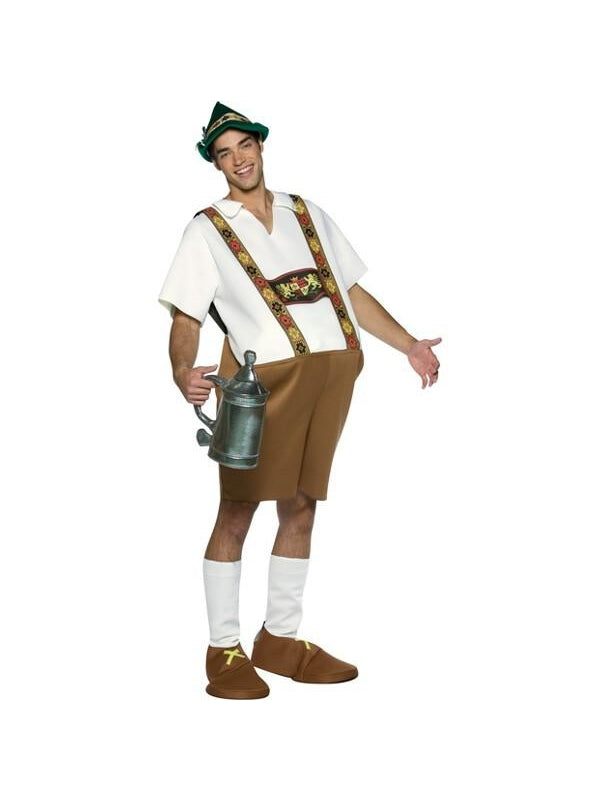 Adult Lederhosen Costume-COSTUMEISH