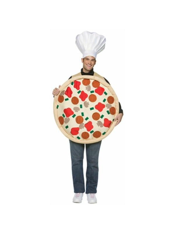 Adult Pizza Pie Costume-COSTUMEISH