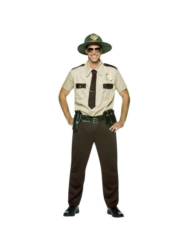 Adult State Trooper Costume-COSTUMEISH