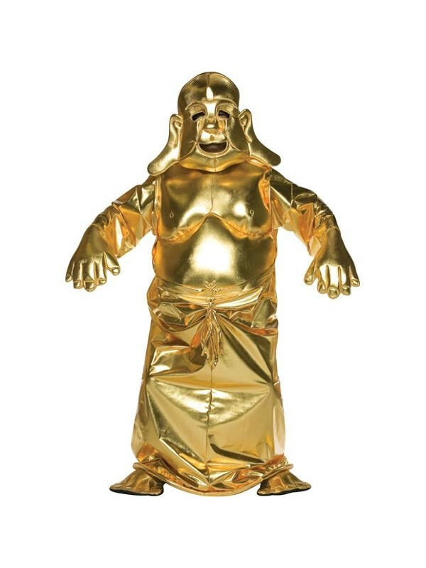 Adult Golden Buddha Costume-COSTUMEISH
