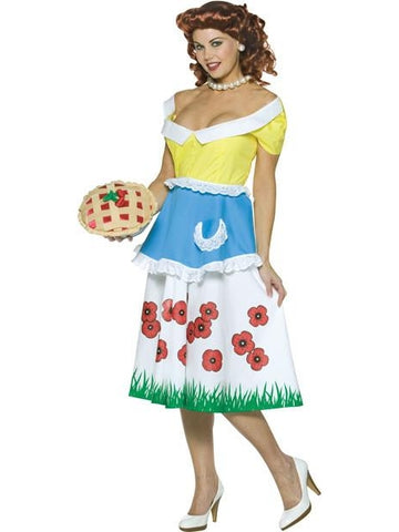 Adult Womens June Cleavage Costume