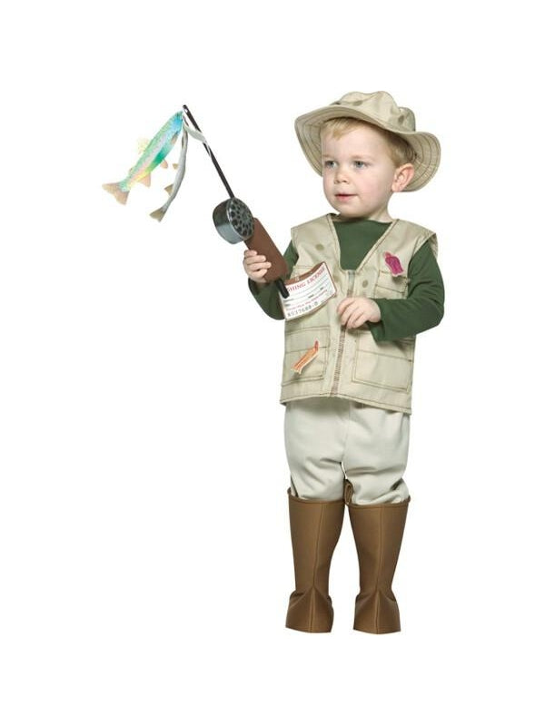 Toddler Future Fisherman Costume-COSTUMEISH