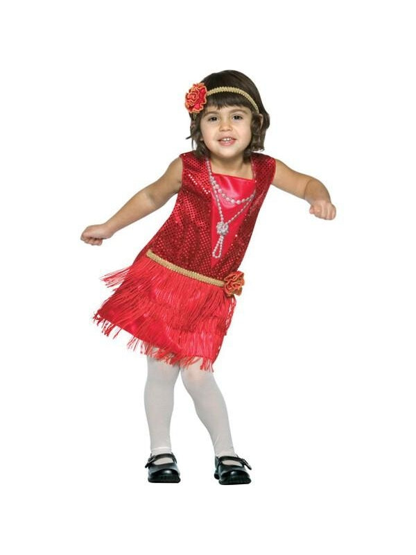 Toddler Flapper Dress Costume-COSTUMEISH