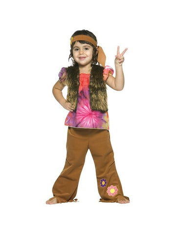 Toddler Hippie Girl Costume