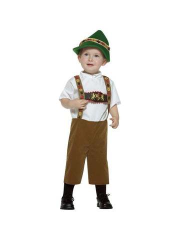 Toddler Lederhosen Boy Costume-COSTUMEISH