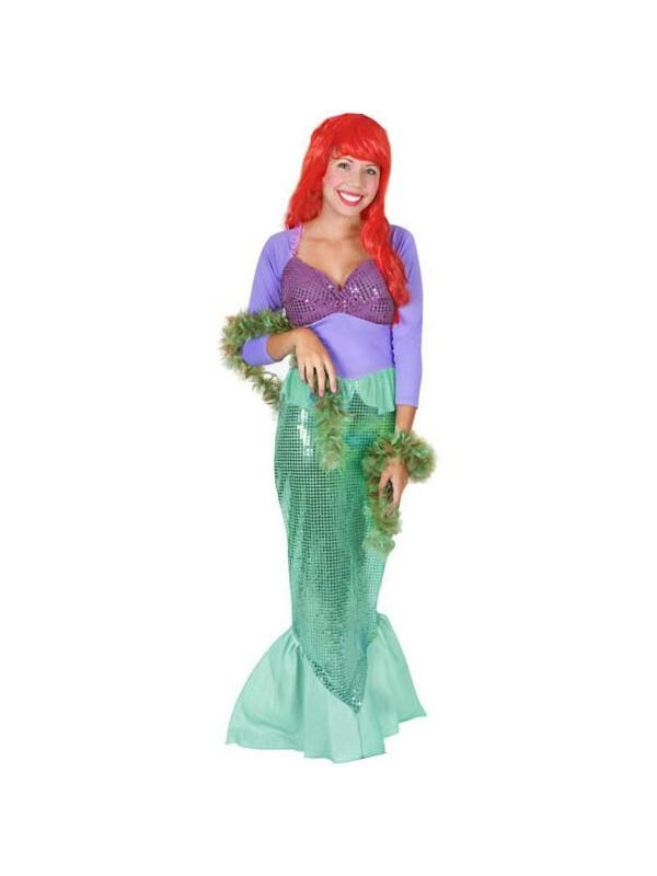 Adult Ariel Little Mermaid Costume-COSTUMEISH