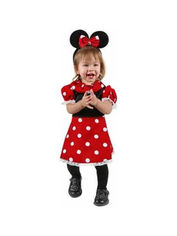 Baby Minnie Mouse Costume Dress-COSTUMEISH