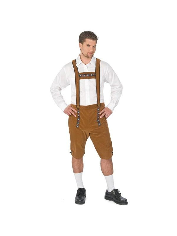 Adult German Lederhosen Costume-COSTUMEISH