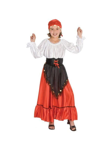 Child Gypsy Costume-COSTUMEISH