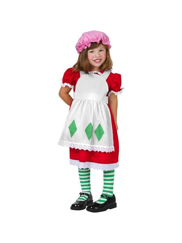Toddler Strawberry Costume-COSTUMEISH