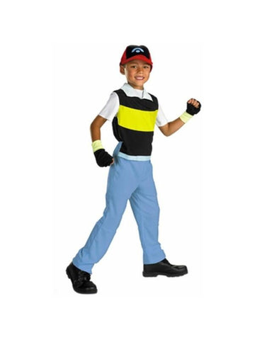 Child's Pokemon Ash Costume-COSTUMEISH