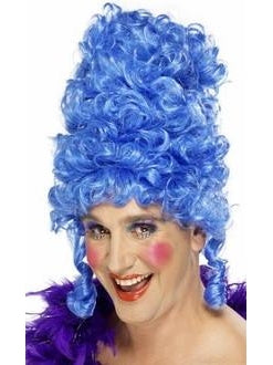Adult Blue Beehive Wig-COSTUMEISH