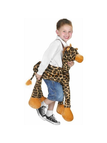 Child's Ride-On Giraffe Costume