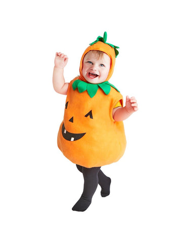 Toddler Plump Pumpkin Costume-COSTUMEISH